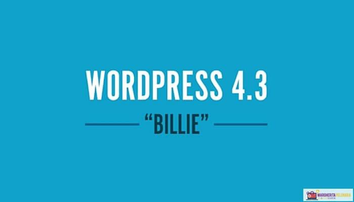 Wordpress 4.3 - Billie
